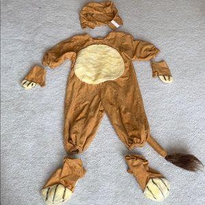 Handmade kids tiger costume